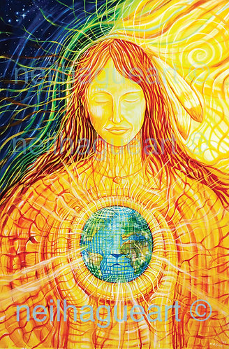 Sun Woman (Langa) - Giclée Print (Original Canvas Size)