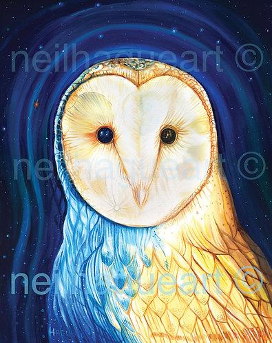 Owl of Arcturus Canvas Print