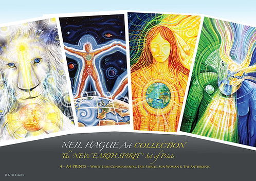 A New Earth Spirit - Collection of 4 Prints