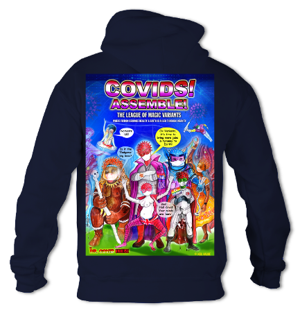 Covids! Assemble! - College Hoodie