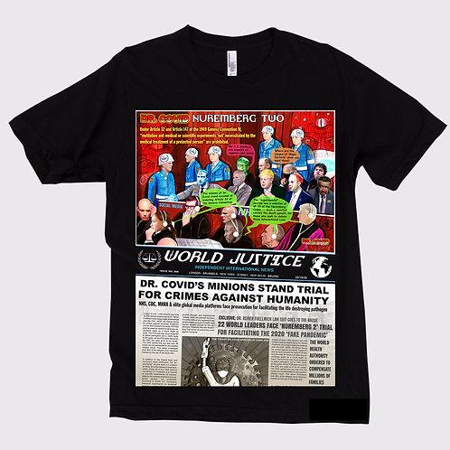 Dr. Covid Nuremberg 2 Unisex T-shirt