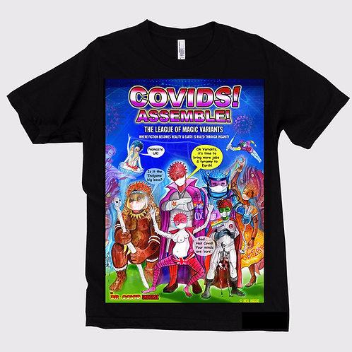 Covids! Assemble! Unisex T-shirt