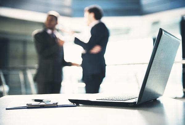 Discussione di affari