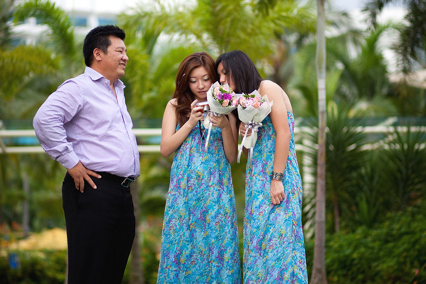 Singapore Wedding Photography, wedding day, bridesmaid