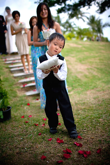Singapore Wedding Photography, wedding day, page boy