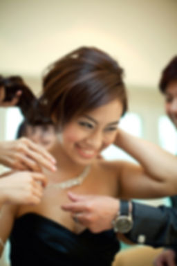 Singapore Wedding Photography, wedding day, bride getting ready