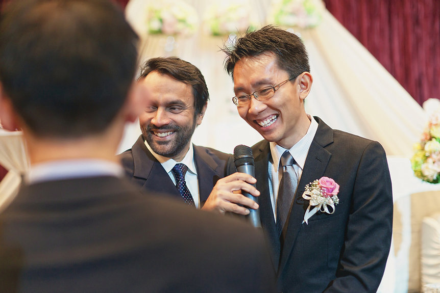 Singapore Wedding Photography, wedding day, wedding vows