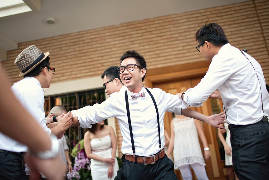 Singapore Wedding Photography, wedding day, gate crashing games