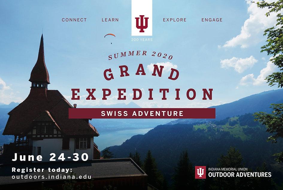 Indiana University Bicentennial Grand Expedition Swiss Adventure