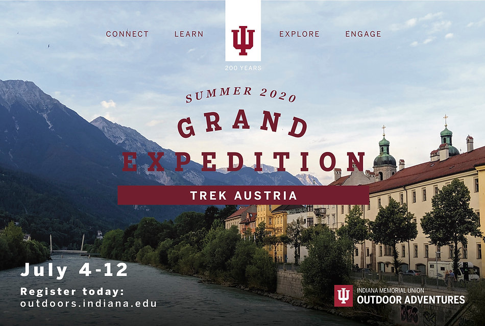 Indiana University Bicentennial Grand Expedition Trek Austria