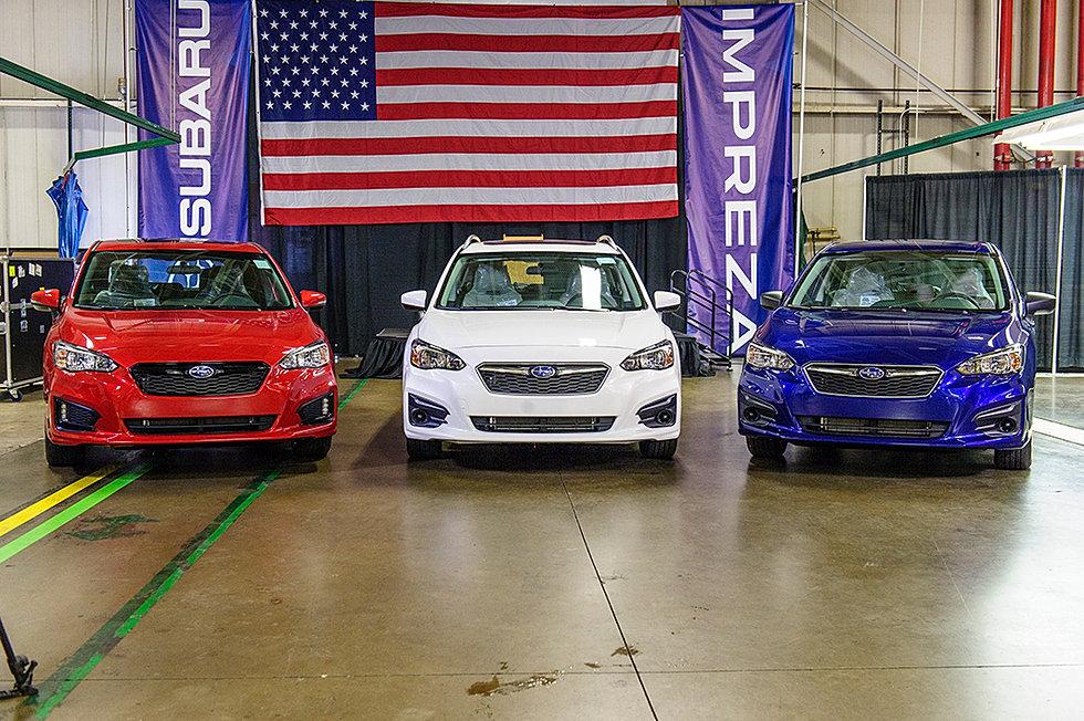 Subaru plant usa