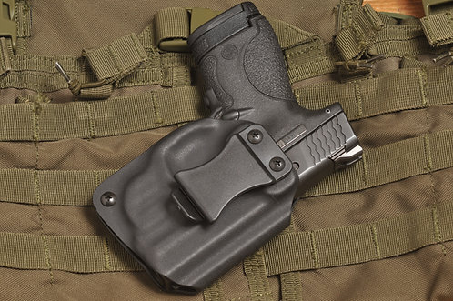 Holster for Smith & Wesson Shield 9mm/.40S&W, w/ Crimson Trace Laser LG-489/489G