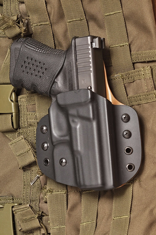 Holster for Glock 19, 19x, 26, 27, 23, 30, 30s, 42, 43, 43X  OWB, Kydex