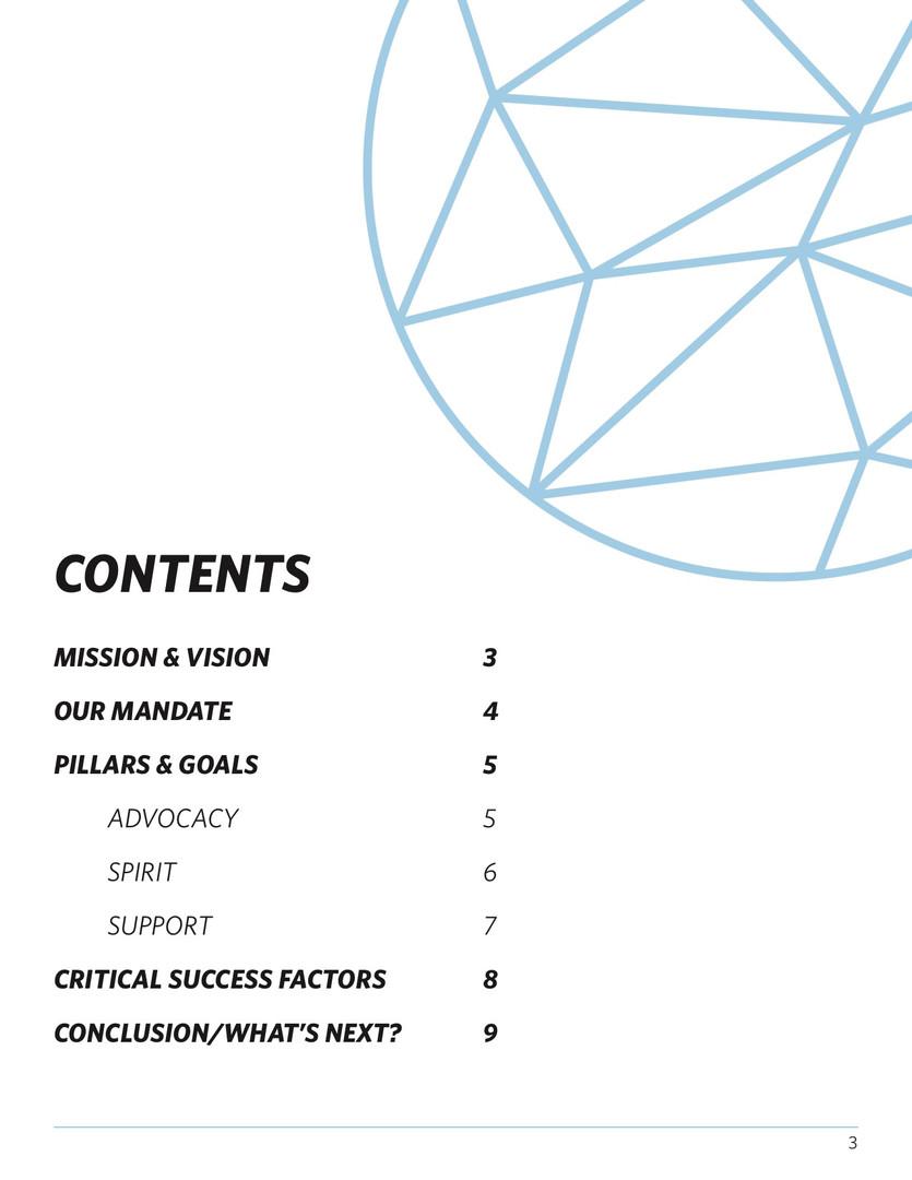 SAITSA Strat Plan 2018 - Contents