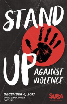 SAITSA Stands Up Against Violence