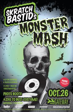 Skratch Bastid's Monster Mash @ The Gateway
