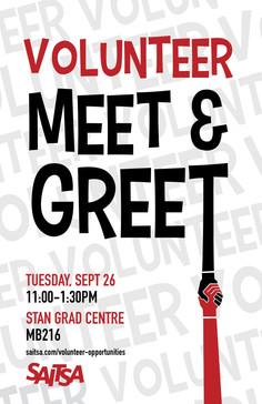 Volunteer Meet + Greet