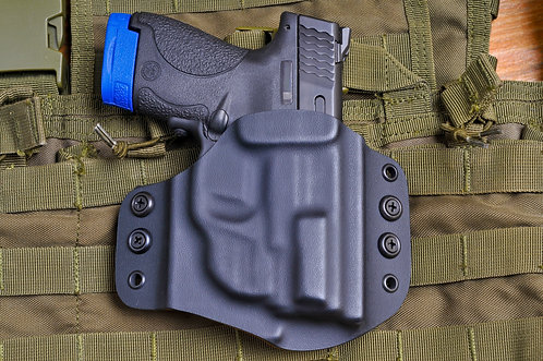 Holster for Smith & Wesson Shield 9mm/.40S&W, w/ Crimson Trace, OWB