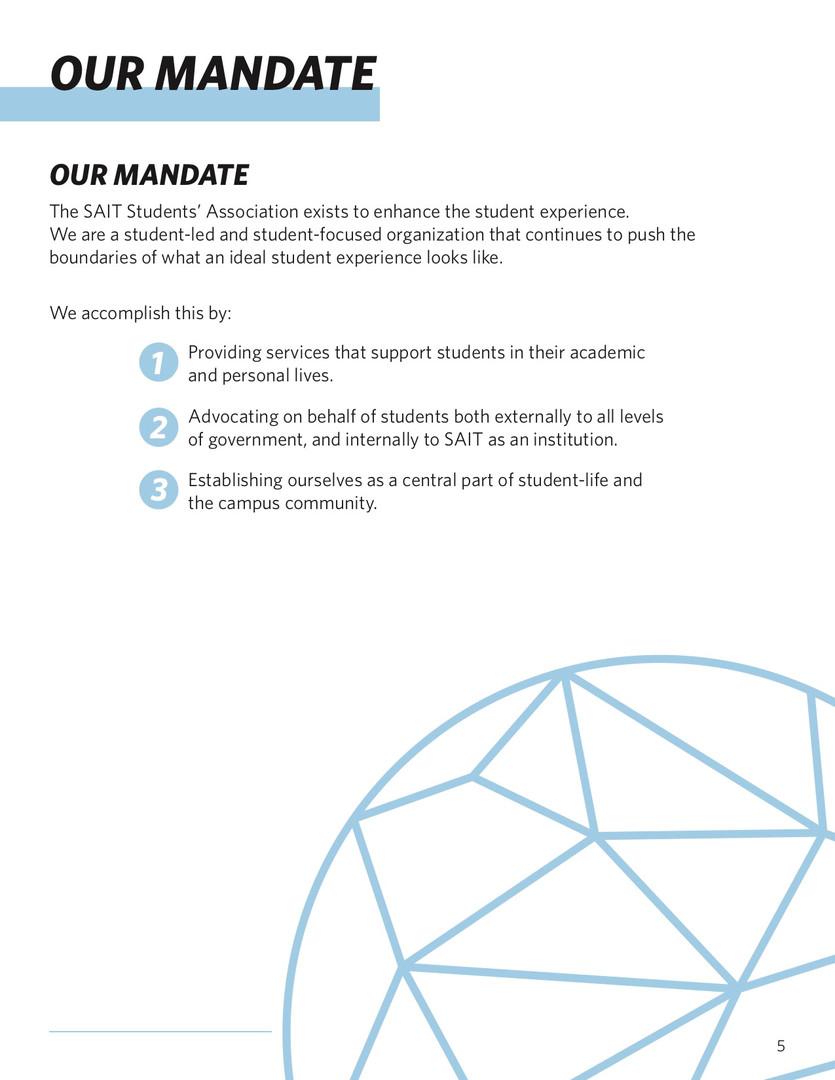 SAITSA Strat Plan 2018 - Our Mandate