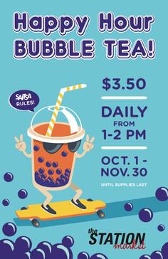 Bubble Tea Happy Hour