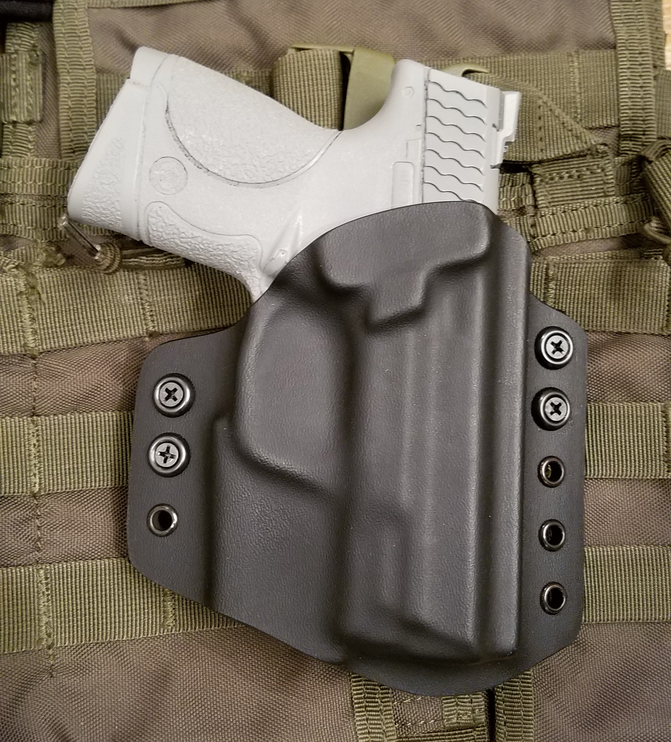 Holster for Smith & Wesson M&P Compact, 9c/40c, OWB, Kydex