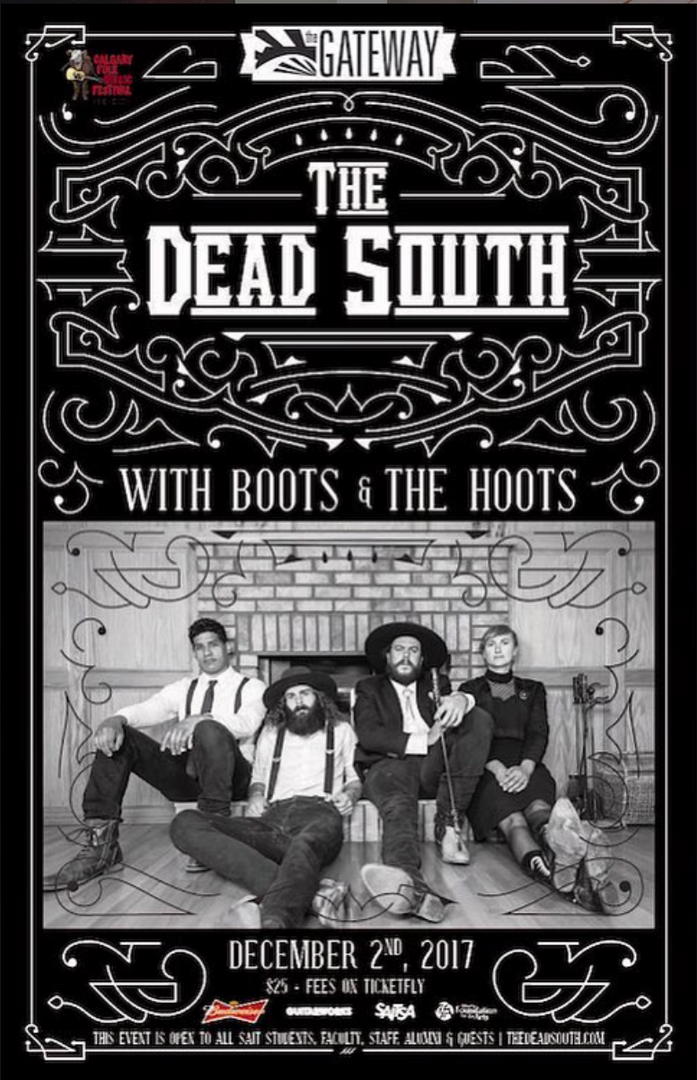 The Dead South @ The Gateway