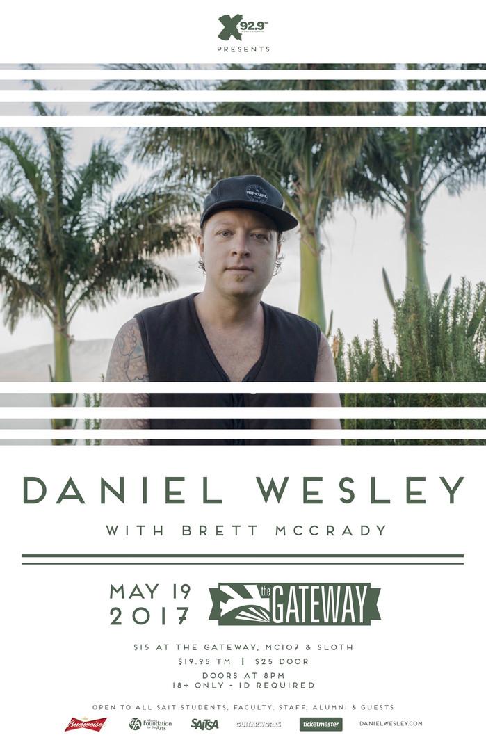 Daniel Wesley @ The Gateway