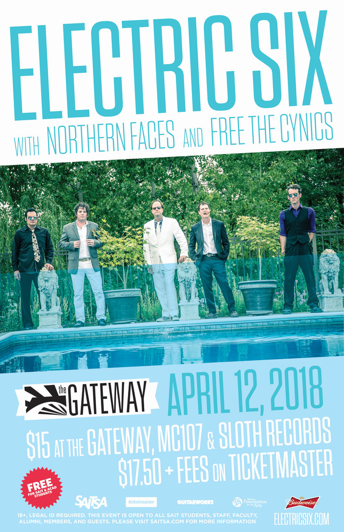 Electric Six @ The Gateway