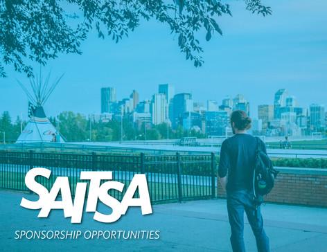 SAITSA Sponsorship Deck - Title Page