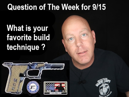 Polymer 80 build Q & A with MGB 9/8