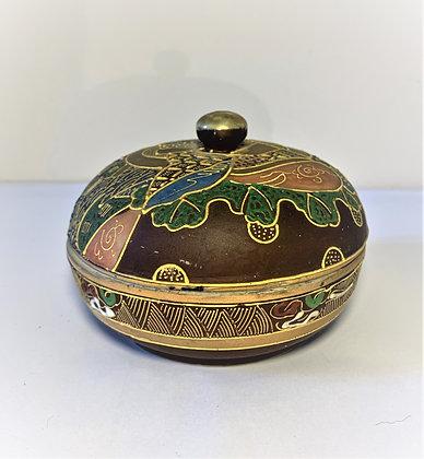 Boîte japonaise en porcelaine