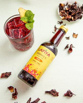 Lafiya Hibiscus Drink Mango, 330ml (3 Pack)