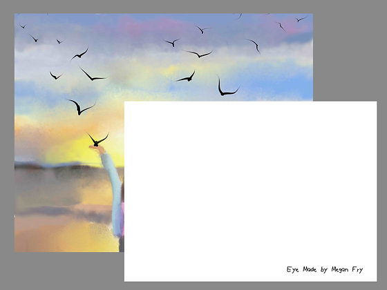 Pack Of 25 5x7 Note Cards