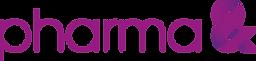 pharma& logo 4C polychrom wort-bildmarke