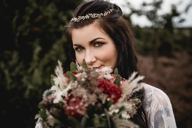 Bridal Style Shooting mit Marco Böhme in der Lüneburger Heide