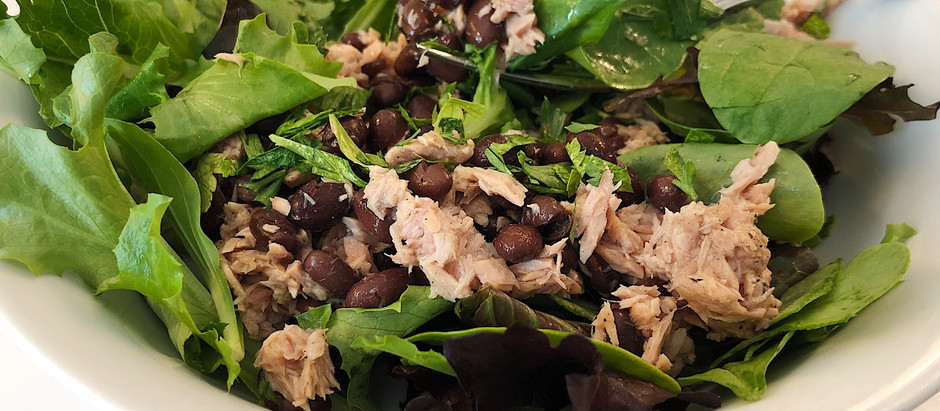 Black Bean and Tuna Salad