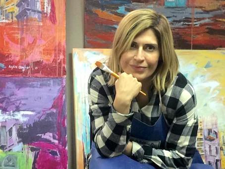 Layla Dagher: les couleurs du Liban