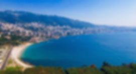 Baie de Jounieh. Liban. Mon Liban d'Azur