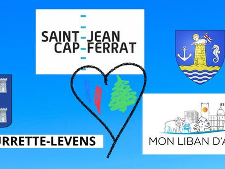 Mon Liban d'Azur solidaire du Haut-Pays