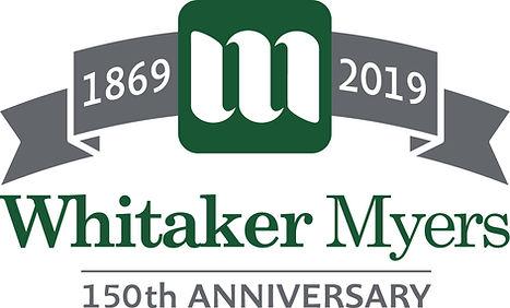 Whitaker Myers 150th Anniversary Logo .j