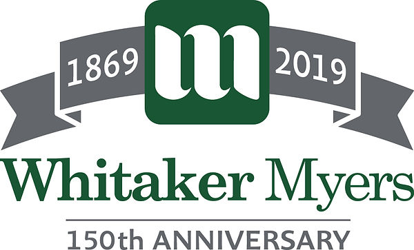 Whitaker Myers 150th Anniversary Logo .j