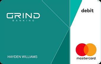 GRIND Banking Ocean Card