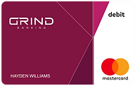 GRIND Banking Passion Card