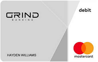 GRIND Banking Stone Card