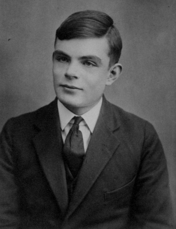 Alan Turing at 16 years old