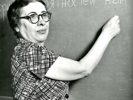 """Female Role Models: Ida Rhodes, the woman who defined the notion of """"software"""""""