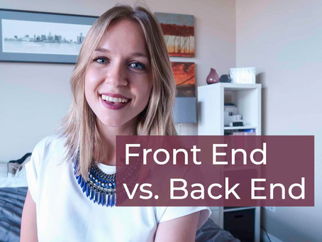 Front End VS. Back End