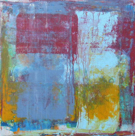 Rustic in Red, Yellow and Blue