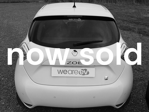 2016 (16) Renault Zoe Dynamique Nav 22kWh 28k Miles