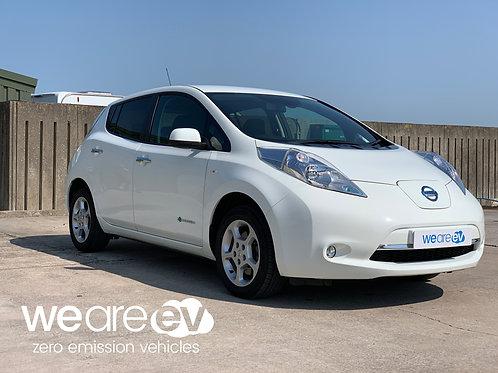 2017 (17) Nissan Leaf Acenta 30kWh 6.6kW Charger 30k Miles